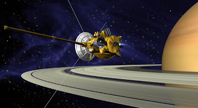 Artist concept of Cassini spacecraft