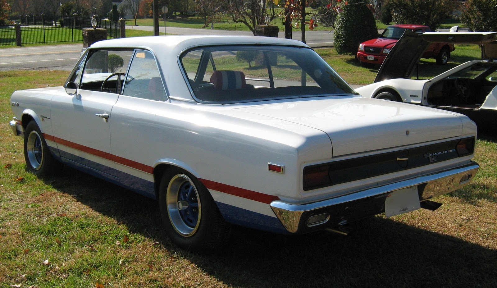 1969 AMC SC Rambler Rear View
