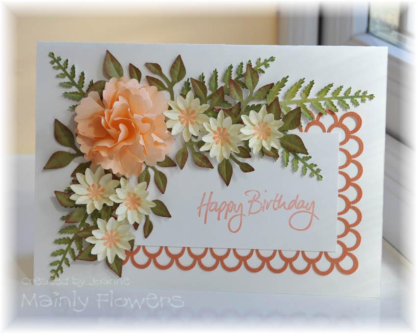 Открытки с днем рождения своими руками из бумаги с цветами