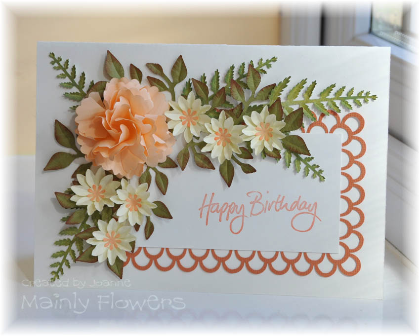 Красивые открытки с цветами своими руками на день рождения