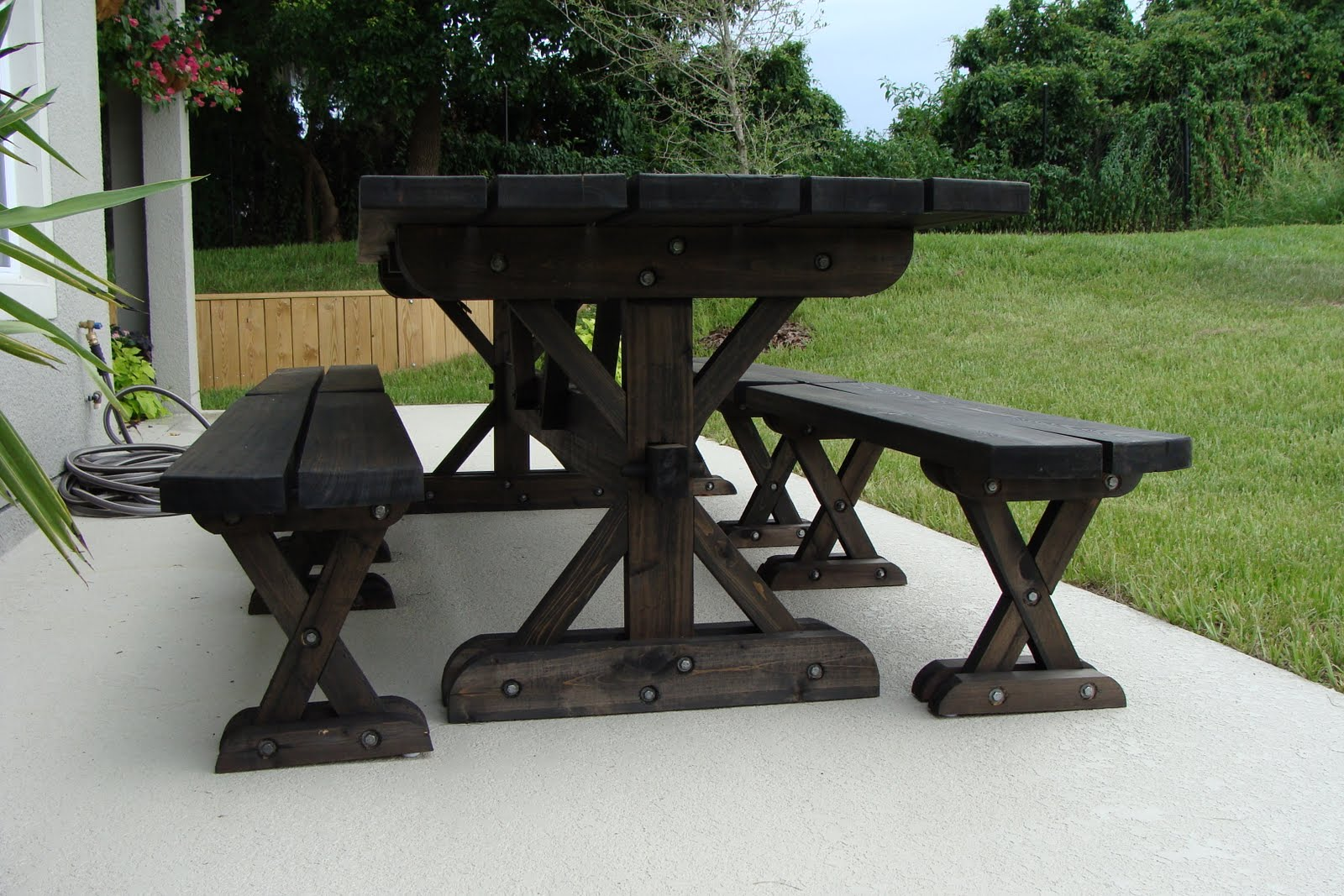 Plans For Picnic Table Bench Combo