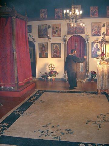 Incensacion Santos Iconos