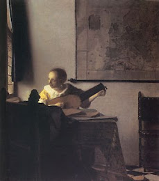 Vermeer - Woman with lute