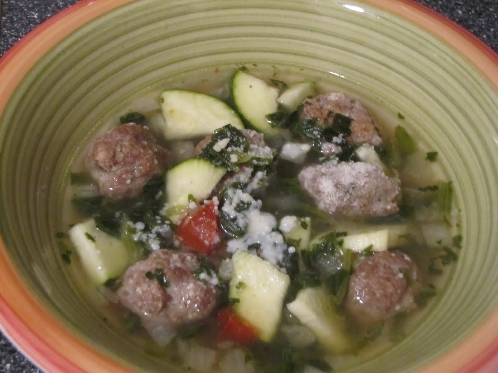 Barbies WLS Recipes Crock Pot Italian Wedding Soup
