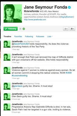 Jane Fonda Tweets