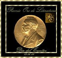 Premio Oro de Literatura. Dia del Escritor. 13/06/09