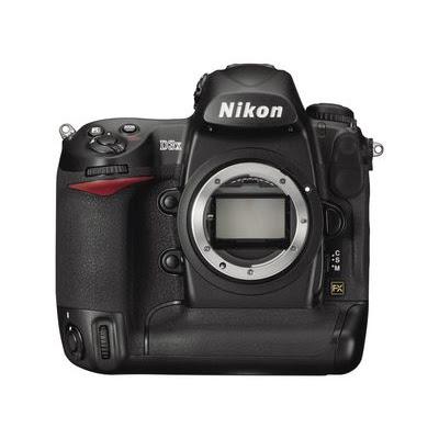 Nikon D3x Digital Camera Body - Front View