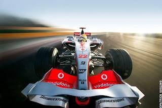 Lewis Hamilton by Patrick Gosling