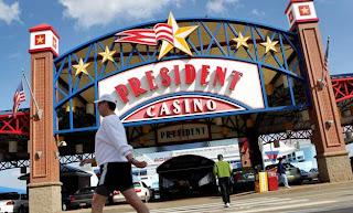 President casino st louis