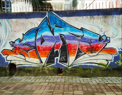 graffiti murals, graffiti creator