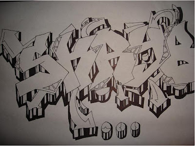 graffiti sketch, graffiti murals