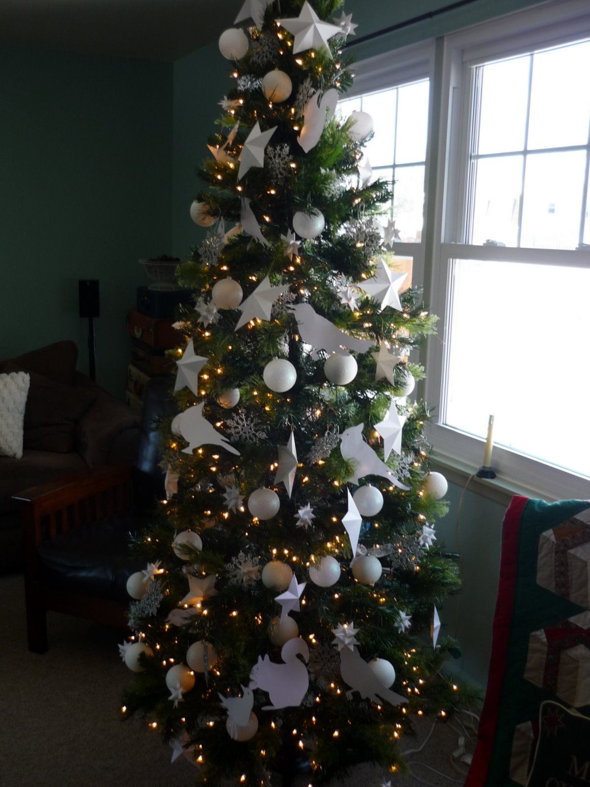 At Home in English Valley: Oh Christmas Tree!