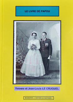 Le livre de Papou Yvonne et JL Cruguel