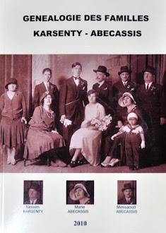 Généalogie des Familles Karsenty - Abecassis