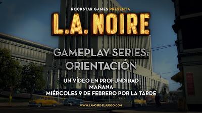 Orientación: el primer vídeo de L.A. Noire Gameplay Series