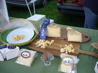 local food - cheese from Vermont