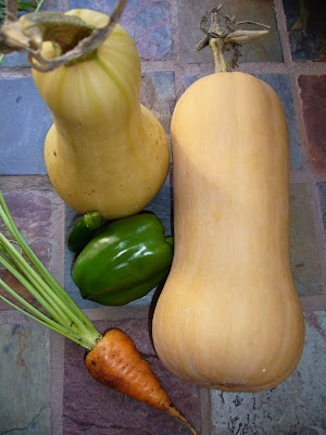 Local vegetables from the Maryland garden of Two Green Acres