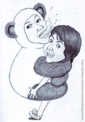 Panda - Karikatur Selebriti Indonesia