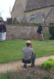 Sulgrave Manor independence day tree planting