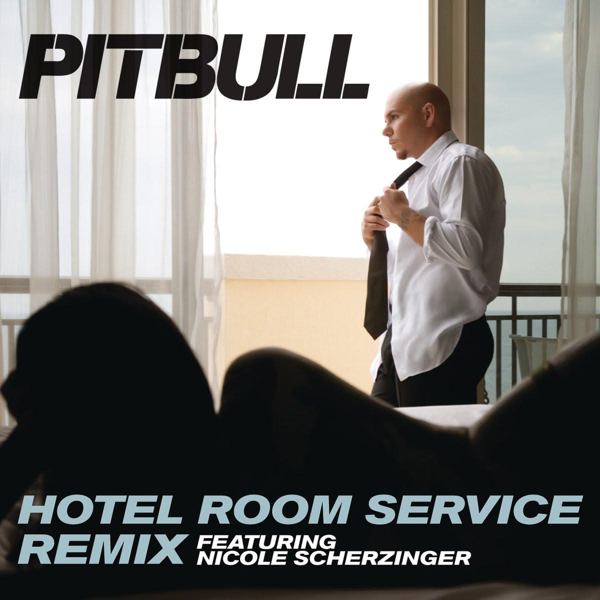 Pitbull Hotel Room Service Single Cover