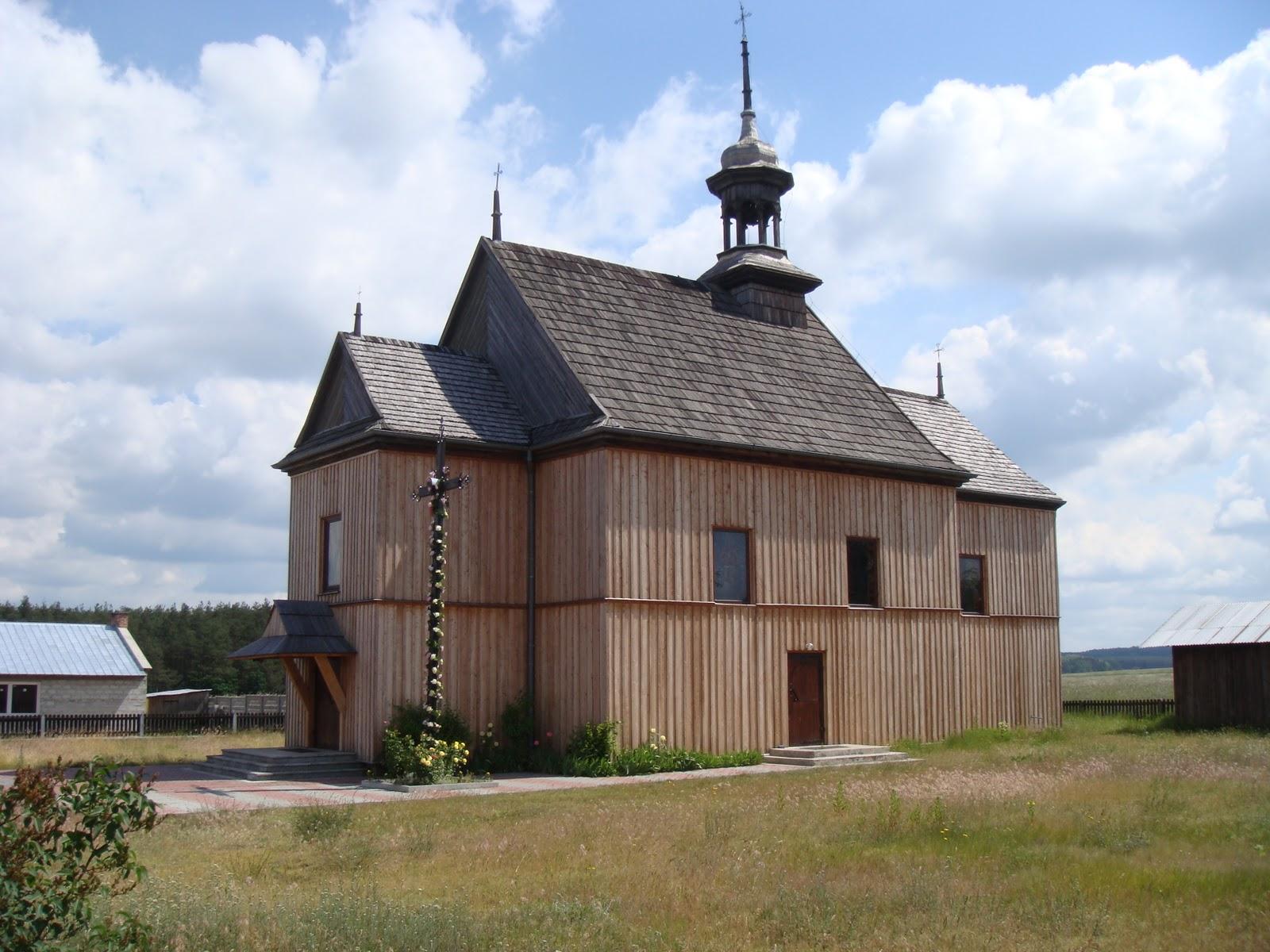 I miei viaggi cammino polacco warsavia czestochowa for Case in legno polonia