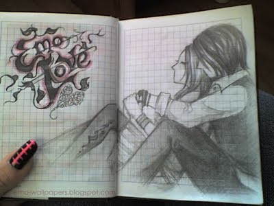 emo love kiss cartoon. emo love cartoons images. emo