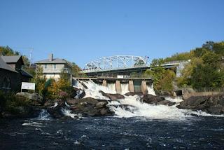 Bracebridge Hydro Dam