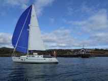 Jessy of Adrigole Sails Past the Training Centre