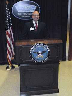 Briefing at the Pentagon