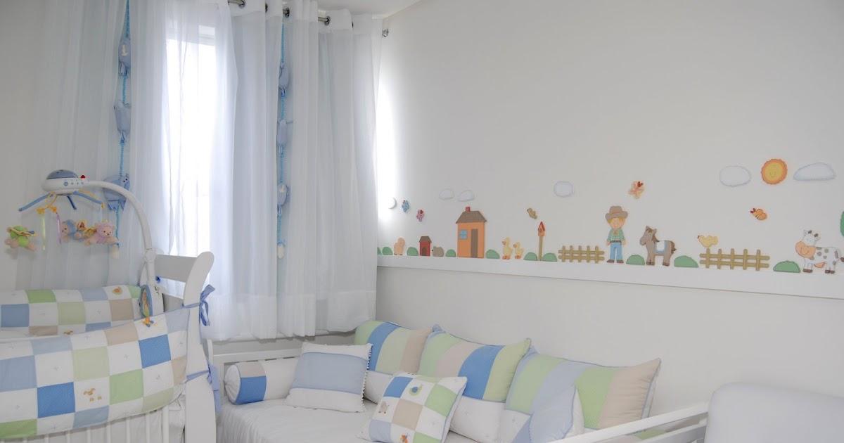 Lecomcré  Decoração de quartos de bebê Quarto de bebê  Tema Fazendinha