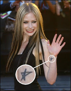 Avril lavigne Tattoo!!!!!!!!!!!!!!!!!!
