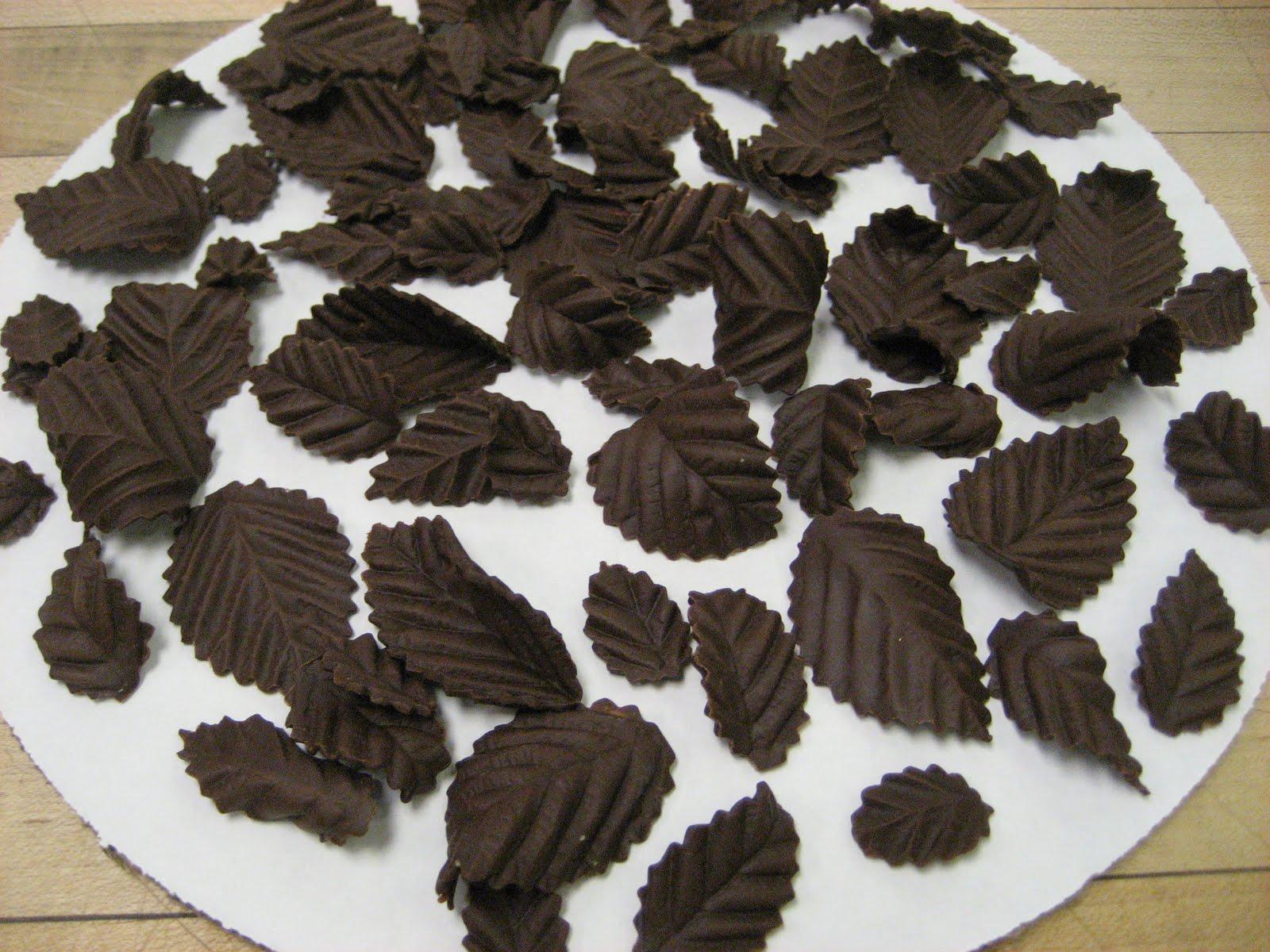 The Kitchen Optimist Chocolate Designs