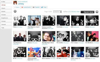 Top Artists on LastFM