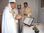 Consagración del Santo Myrron.