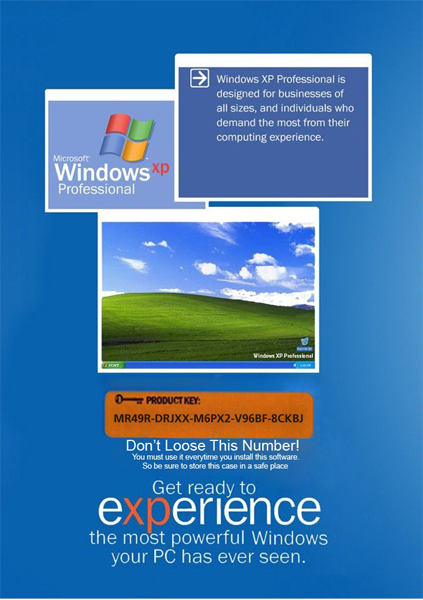 keygen windows xp professional