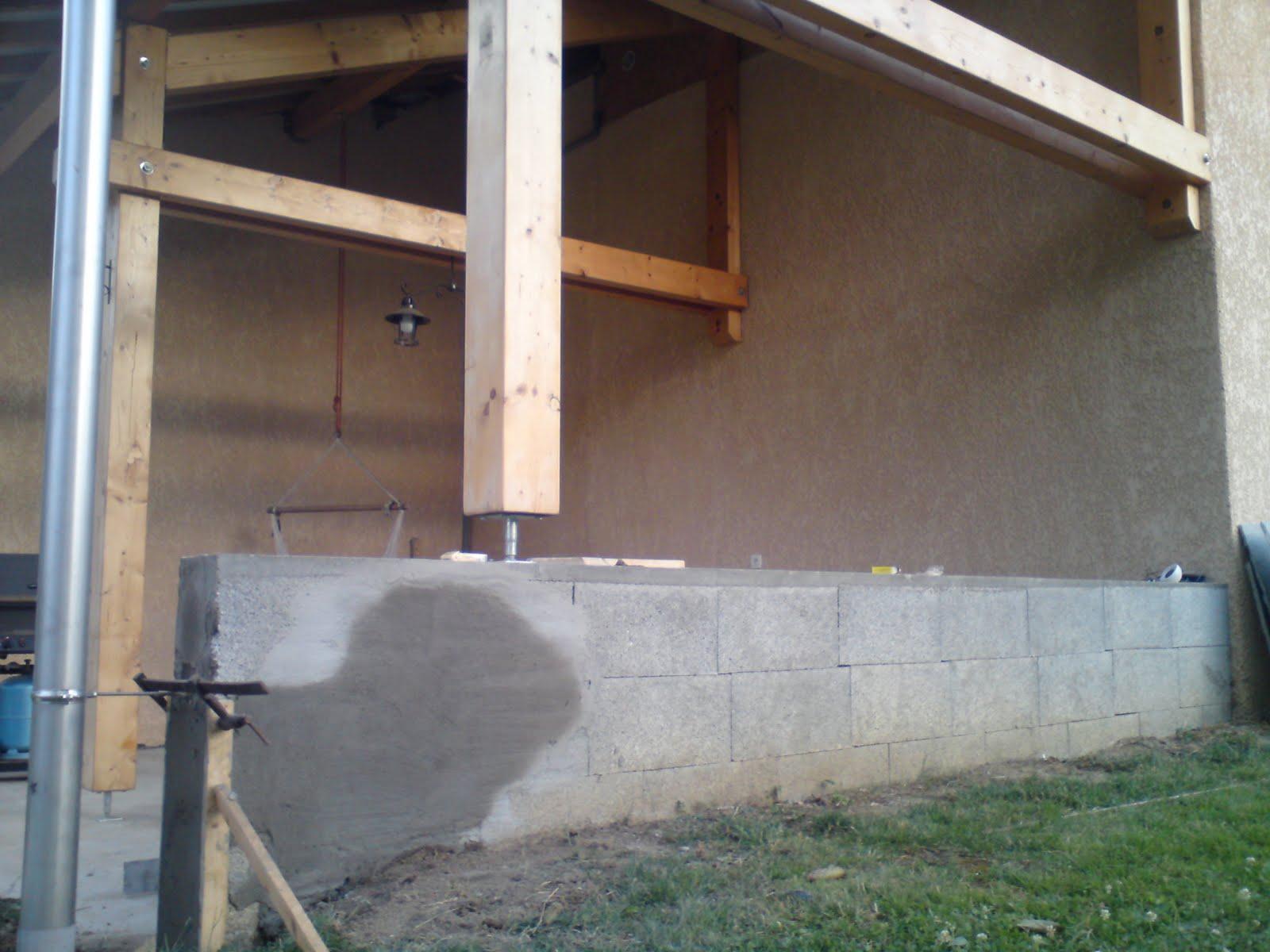 Service bricolage habillage de mur ext rieur en pierre en - Habillage pierre mur exterieur ...