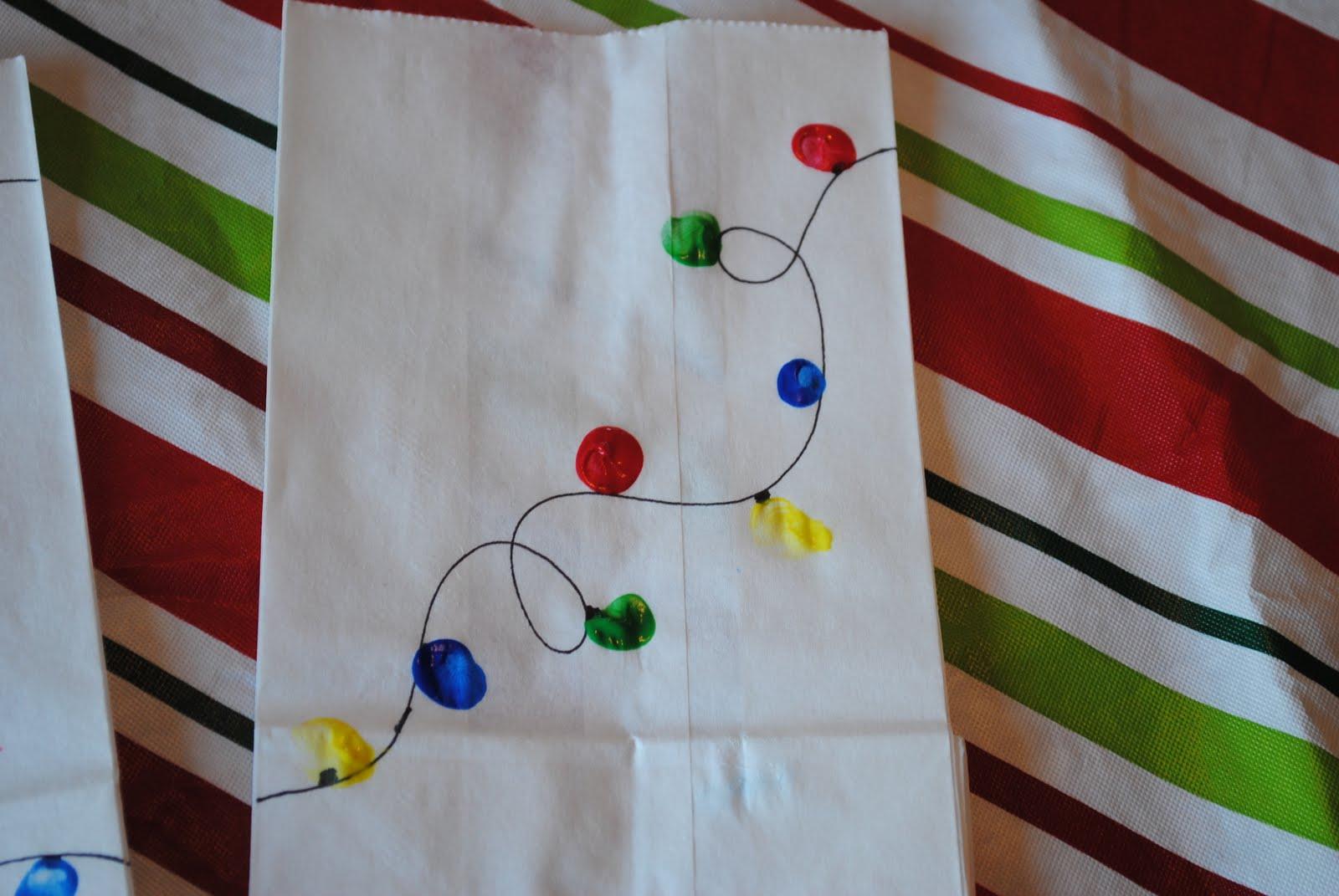 Life of a modern mom easy christmas lights kids craft