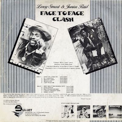 Johnny Clarke / Cornell Campbell - Dem A Say Rasta / Two Face Rasta