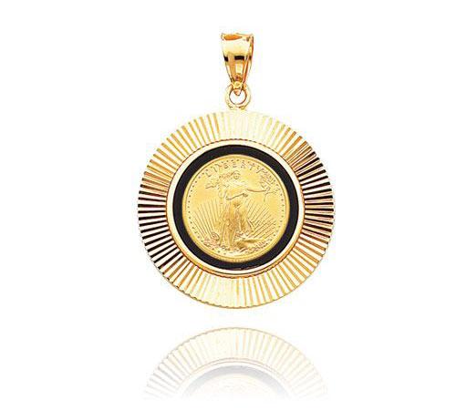 American Eagle Coin Pendant