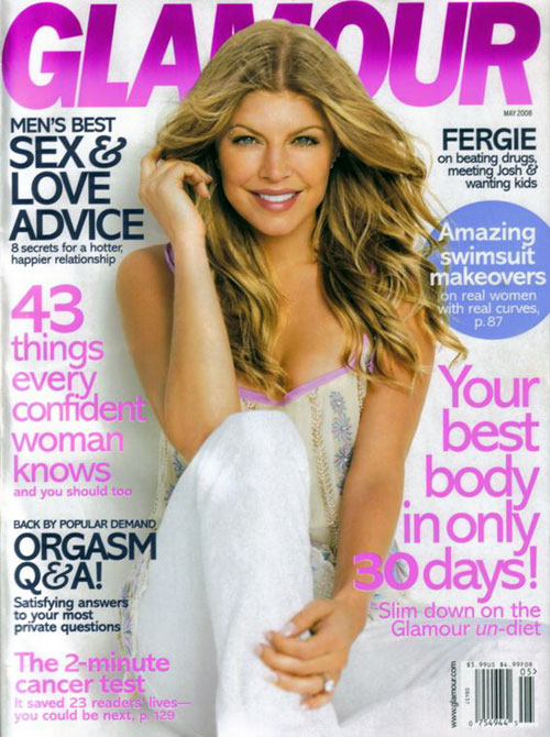 Glamour Cover Fergie