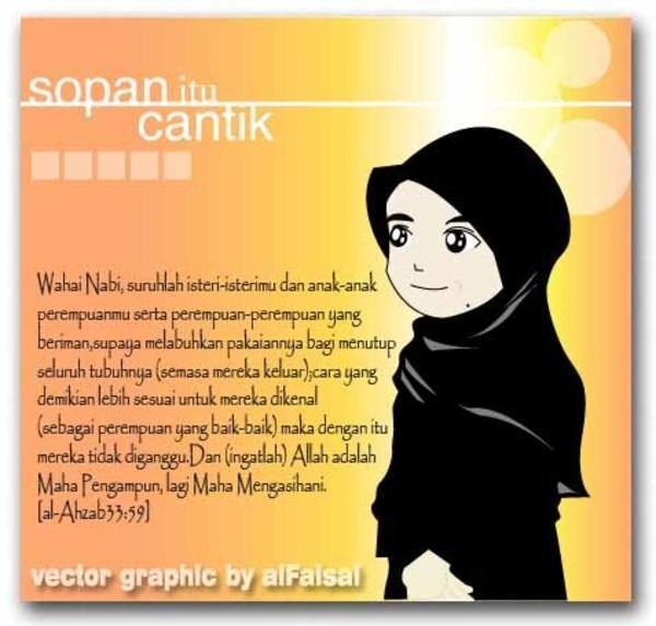 wallpaper muslimah kartun. Our database muslimah, kartun