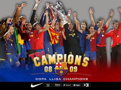Barcelona Champions UEFA