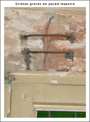 Reparacion de grietas en muros de ladrillo reparaci n - Reparar grietas pared ...
