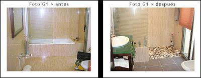 Cambiar bañera por plato de ducha a nivel de suelo aprovechando la mampara actual haciendo una pared para recolocar la mampara.