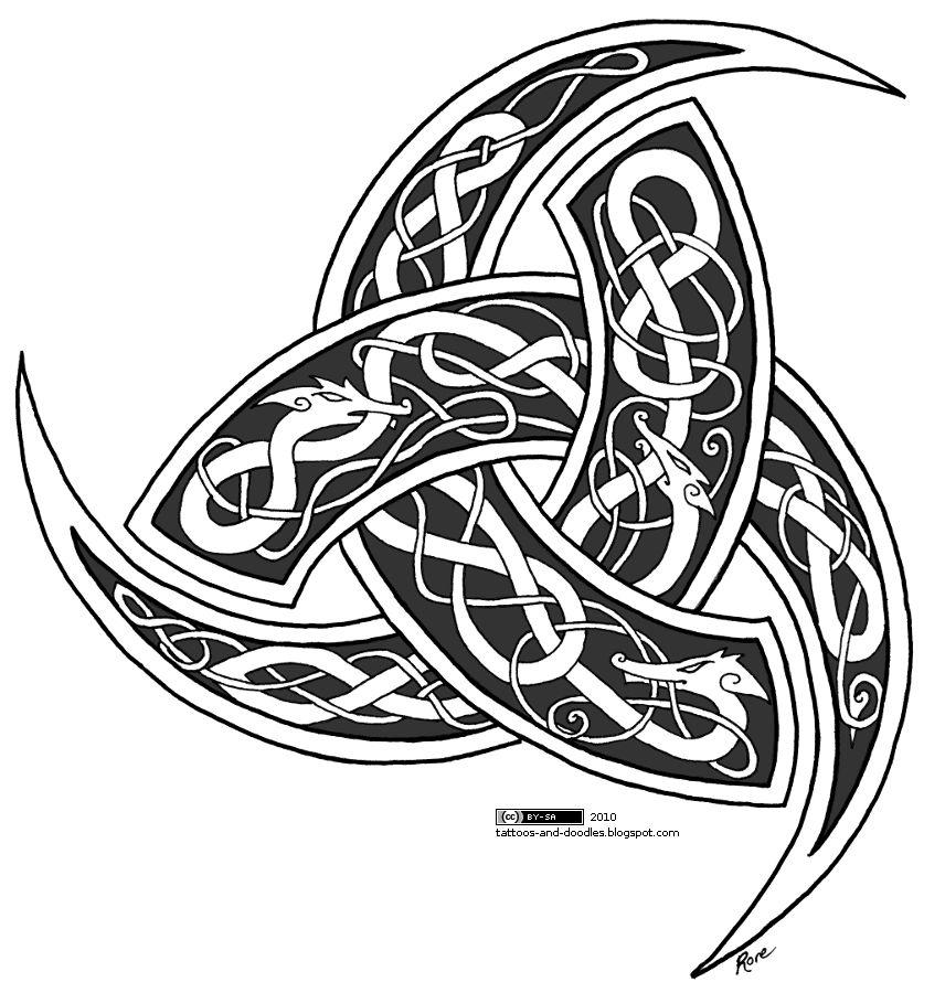 tattoos and doodles horns of odin. Black Bedroom Furniture Sets. Home Design Ideas
