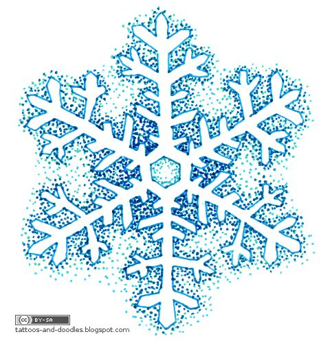 snowflake tattoo. snowflake tattoo 2