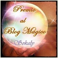 """Premio; """"Al al blog mágico"""""""