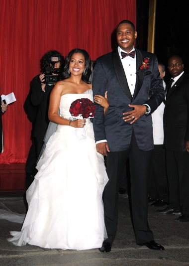 carmelo anthony and lala baby. LaLa Vasquez married her