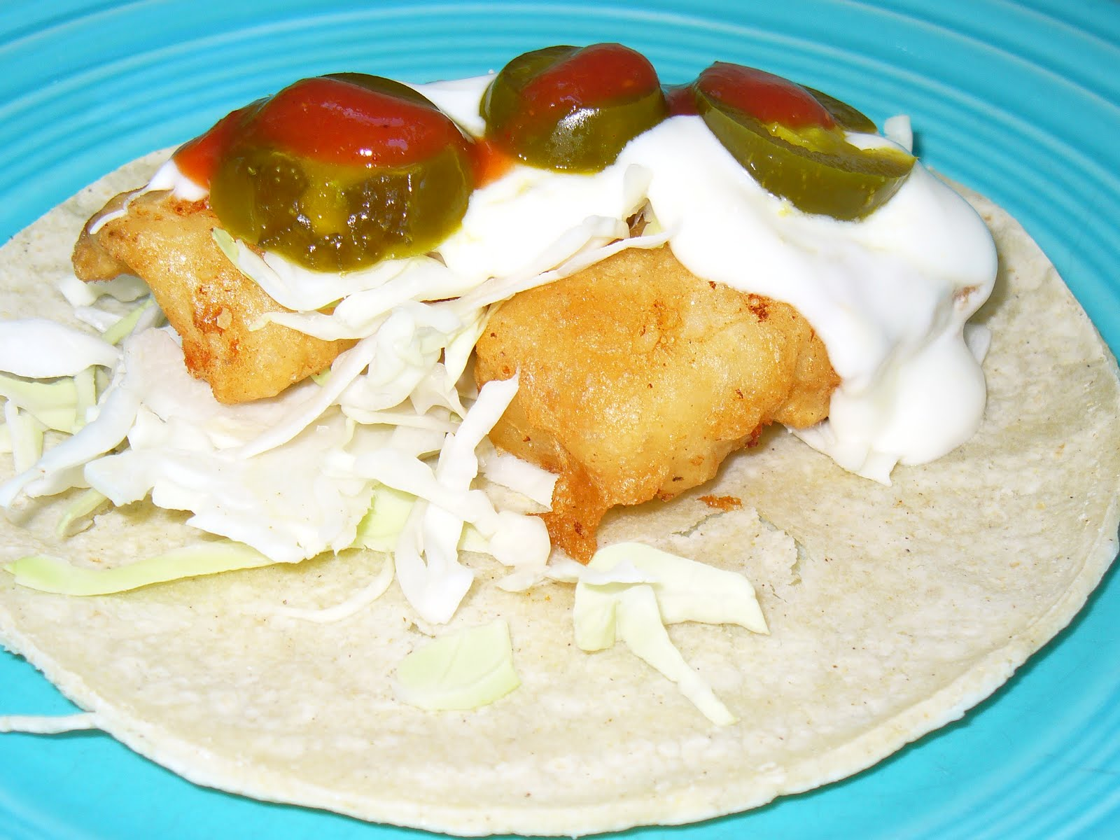 Leenee 39 s sweetest delights baja style fish tacos for Fish tacos food network