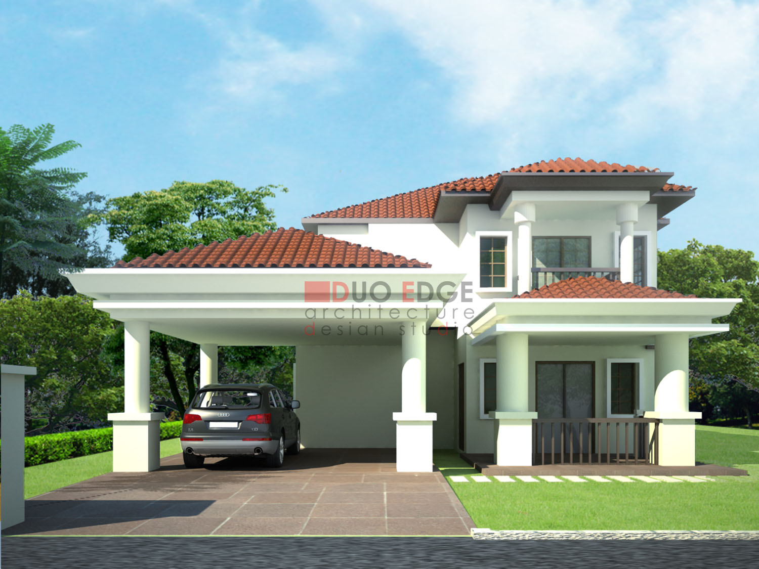 House plans and design architectural designs bungalow for Bangalo design